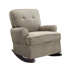 Rocker in Dark Taupe