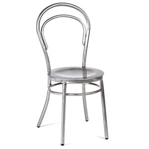 Volo Design Marie Dining Chair in Galvanized (Set of 2)