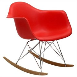 Volo Design James Rocker in Red