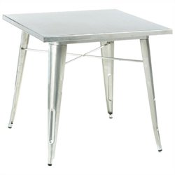 Volo Design Promenade Table in Galvanized