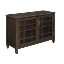 Storage Cabinet in Dark Chestnut Brown