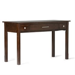 Office Desk in Tobacco Brown