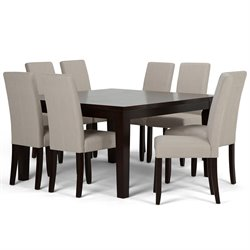 9 Piece Dining Set in Natural