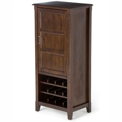 Wine Cabinet in Espresso Brown