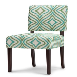 Accent Chair in Green