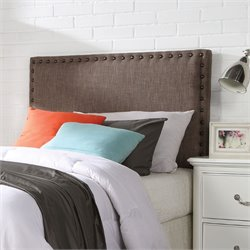 ACME Furniture Sabina Linen Queen and Full Headboard in Brown