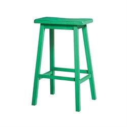 Gaucho Stool in Antique Green