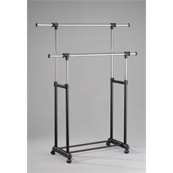 ACME Furniture Lera Garment Rack in Black