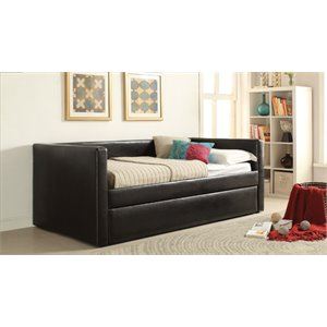 ACME Furniture Aelbourne Daybed and Trundle in Black