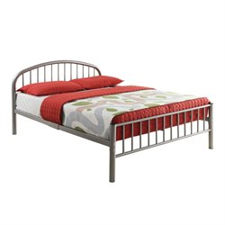 Cailyn Bed in Silver