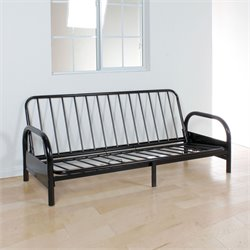 ACME Furniture Alfonso Adjustable Futon Frame in Black