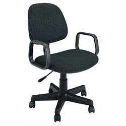 ACME Furniture Mandy Fabric Pneumatic Lift Office Chair in Black