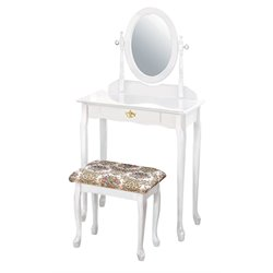 Acme Queen Anne Vanity Set