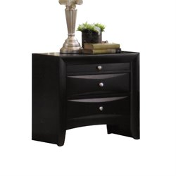 ACME Furniture Ireland Nightstand in Black