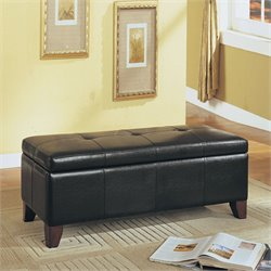 ACME Furniture Teton Storage Bench in Espresso
