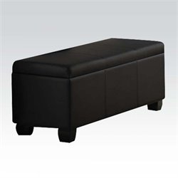 ACME Furniture Ireland Storage Bench in Black