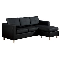 ACME Furniture Kemen Sectional in Black
