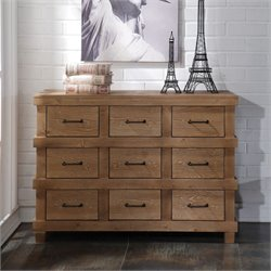 ACME Furniture Adams Dresser in Antique Oak