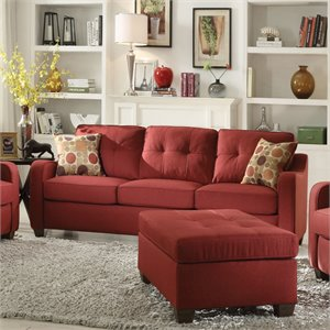 ACME Cleavon II Sofa in Red