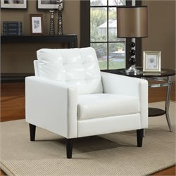 ACME Furniture Balin Accent Chair in White