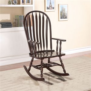 ACME Furniture Kloris Rocking Chair in Cappuccino
