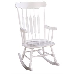 ACME Furniture Kloris Rocking Chair in White