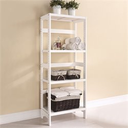 ACME Furniture Meera 3 Shelf Bookcase in White