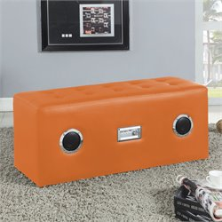 Laila Sound Lounge Bench with Bluetooth Speaker