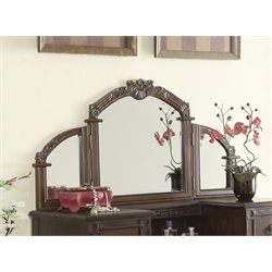 ACME Ashton Vanity Mirror in Oak