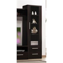ACME Malloy 2 Drawer Cabinet in Espresso