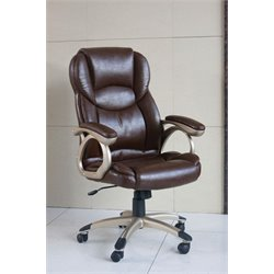 ACME Barton Office Chair with Pneumatic Lift in Brown