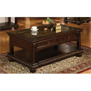 ACME Anondale Coffee Table in Cherry