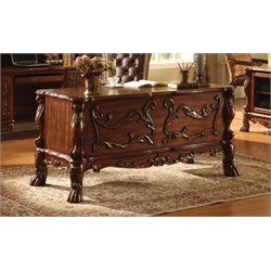 ACME Dresden Executive Desk in Cherry Oak