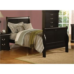 ACME Louis Philippe III Full Sleigh Bed-SH