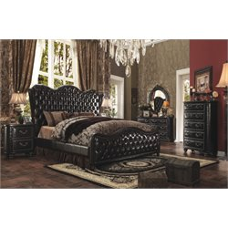 ACME Varada Upholstered Queen Bed
