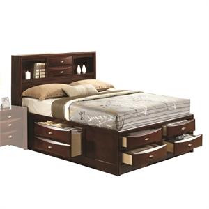 ACME Ireland Queen Storage Bed-SH