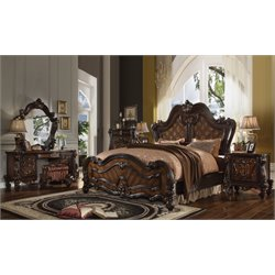 ACME Versailles Queen Panel Bed-SH