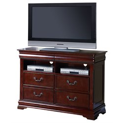ACME Gwyneth 4 Drawer Media Chest in Cherry