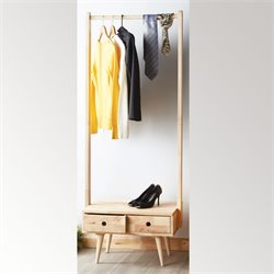 ACME Garnet Garment Coat Rack in Natural