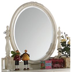 ACME Dorothy Mirror in Ivory