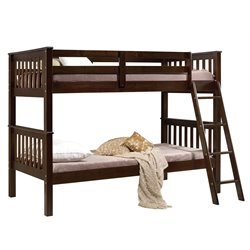 ACME Searra Twin over Twin Bunk Bed in Espresso