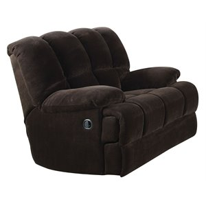ACME Ahearn Rocker Recliner in Chocolate