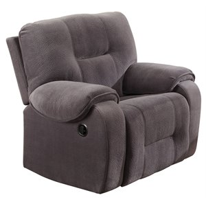 ACME Villa Recliner in Light Gray