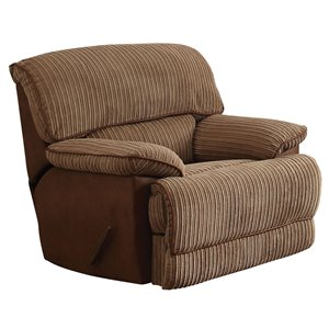 ACME Malvern Rocker Recliner in Light Brown