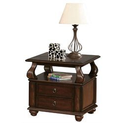 ACME Amado End Table in Walnut