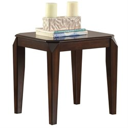 ACME Docila Square End Table in Walnut