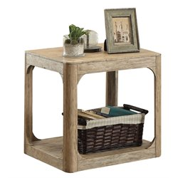 ACME Zaina End Table in Natural Oak