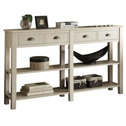 ACME Galileo Console Table in Cream
