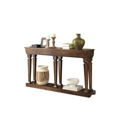 ACME Garrison Console Table in Oak