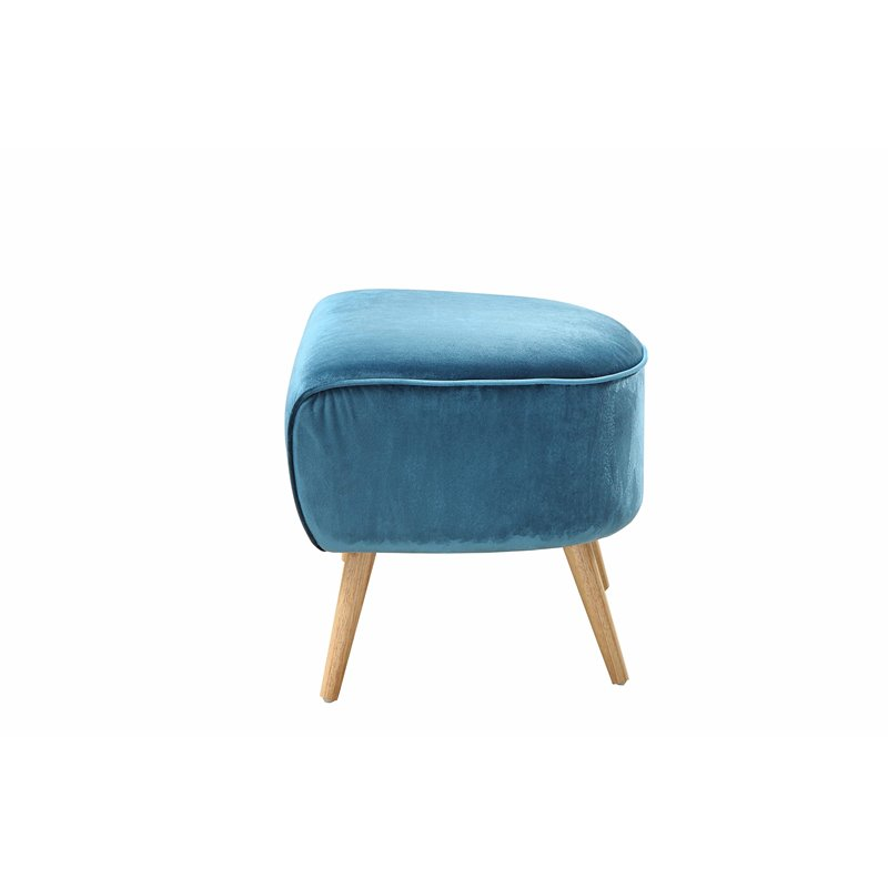 ACME Aisling Ottoman in Teal